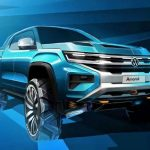 New (Ford Ranger-based) Volkswagen Amarok bakkie teased